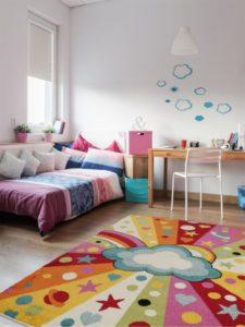 tappeto per la camera da letto