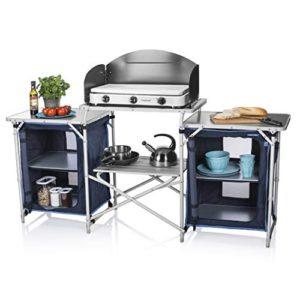Campart Cucina da Esterni Travel KI0732 Malaga  con paravento  Due Scomparti