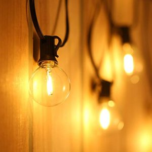 Catene Luminose LEDTomshine Illuminazione Giardino Luci Stringa Lampadina con 121 G40 LED Bulbi Classe di efficienza energetica A