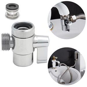 Ciencia SUS304 Deviatore acciaio inox per il rubinetto della cucina lavandino o lavandino rubinetto del bagno del rubinetto parte di ricambio SBA021