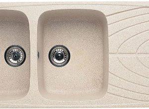 Elleci Master 500 Lavelli Compositi Pietra Avena G51 116x50x21 cm