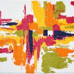Grund Mezzo Tappeto per Il Bagno Poliacrilico Supersoft Bianca 60 x 100 cm