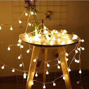 JPLED Catena Luminosa Di Luci Led 13Mfilo di 100 lampadine 10M e Cavo Di Prolunga 3MLuci Da Esterno E Interno Con 8 Modalit Flash Per Giardino Casa Feste Natale Matrimonio Decorazioni