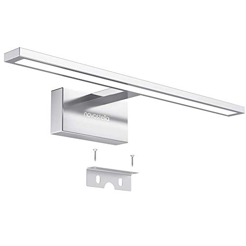 Luce Specchio Bagno Led.Novostella 10w Luce Specchio Bagno 800lm Led Alluminio