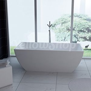 Yellowshop  Vasca Vasche Da Bagno Freestanding Modello Unika Free Standing Design Moderno Centro Stanza Cm 170x80 Altezza 58
