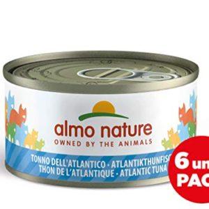 Almo Nature Megapack Tonno dellAtlanticoCibo umido naturale per gatti adulti 6 x 70grlattina