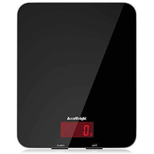 Bilancia da cucina digitale per pesare cibi pietanze con precisione fino a 5kg c